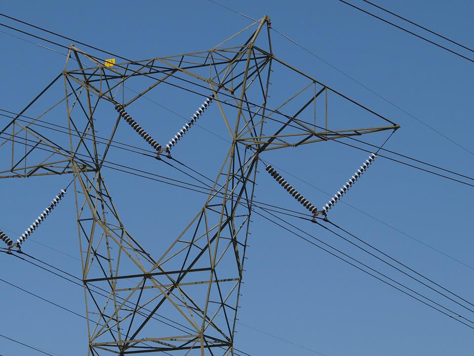 Power Line, Power, Electricity, Energy, Sky, Industry