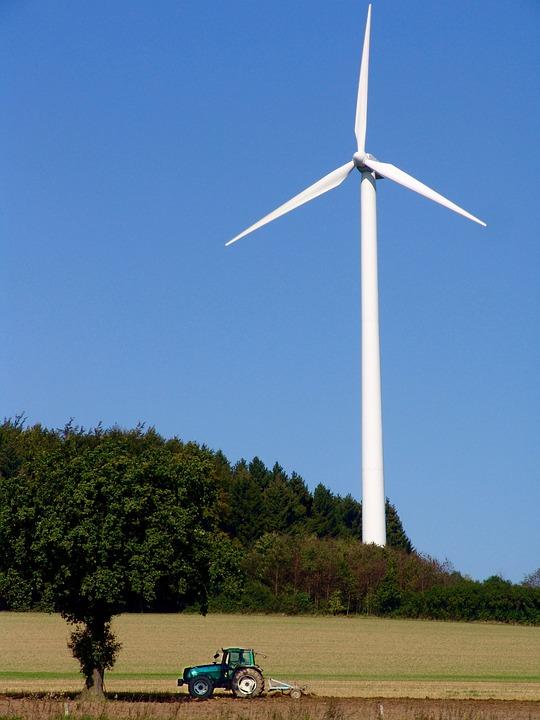 Tractor, Energy Revolution, Pinwheel, Wind Energy
