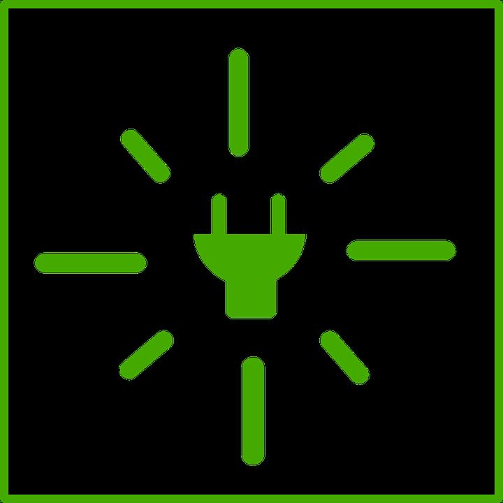 Plug, Ecology, Energy, Green, Sign, Symbol