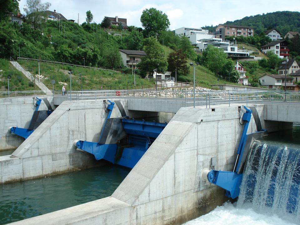 Swim, Power Plant, Limmat, Energy Source, Energy