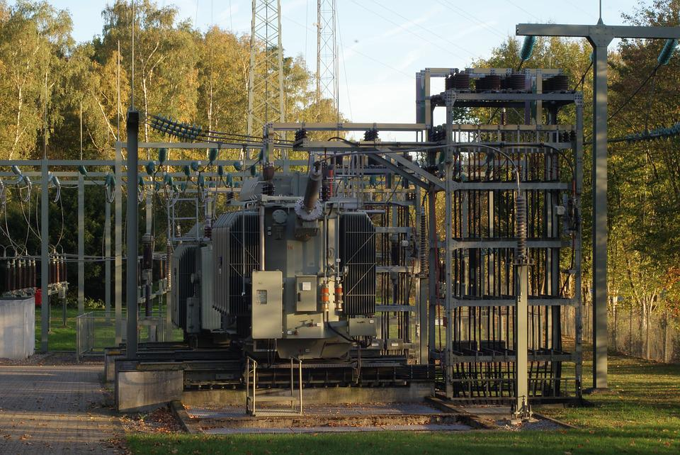 Transformer, Substation, Infrastructure, Energy