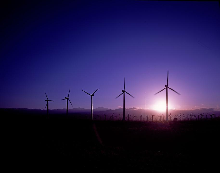 Windräder, Energy, Wind Power, Environmental Technology
