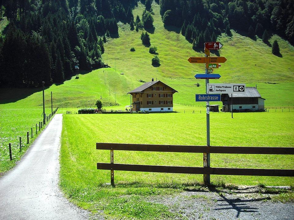 Engelberg, Switzerland, Scenic, Tourism, House
