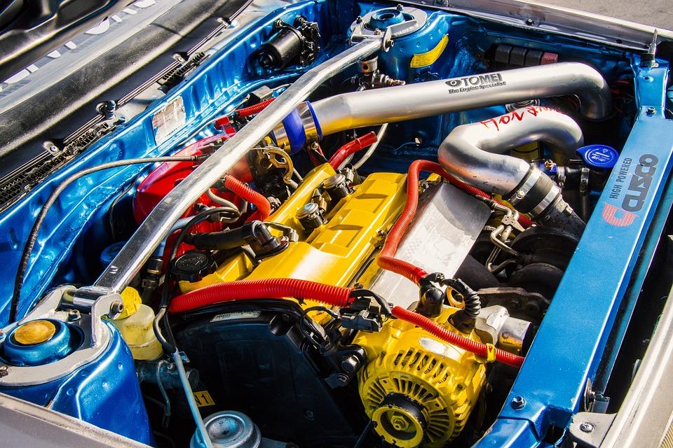 Engine, Car Engine, Sports Car Engine