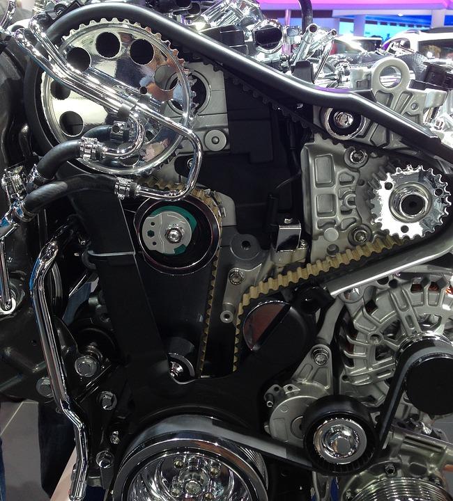Free photo Engine Car Mechanical Parts Automobile - Max Pixel