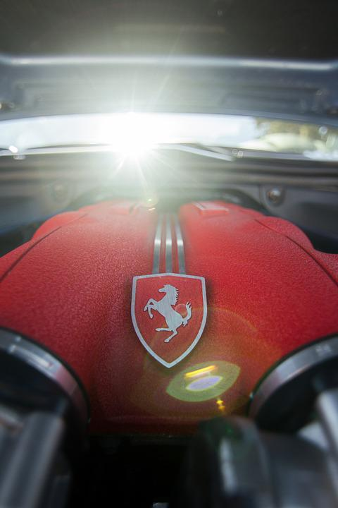 Ferrari, Engine, Ferrari Engine, Ferrari V8 Engine, Car