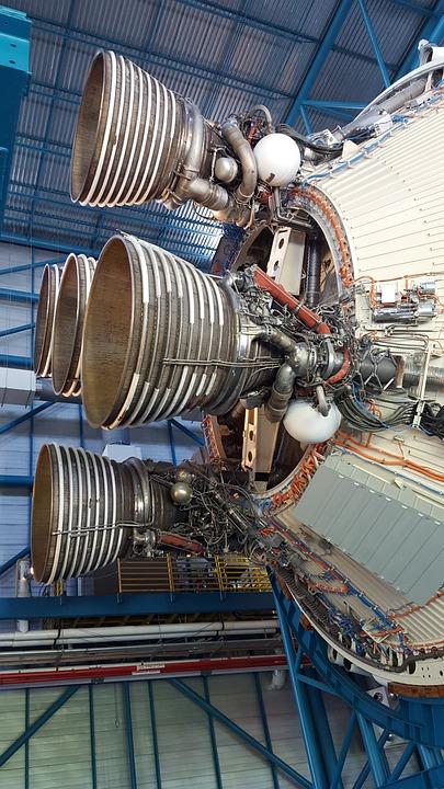Nasa, Kennedyspacecenter, Hugeengines, Engines, Rocket