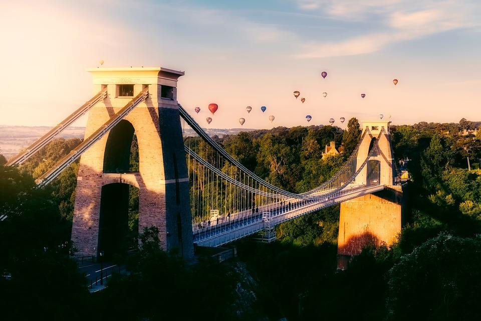 Bristol, England, Great Britain, Hot Air, Balloons