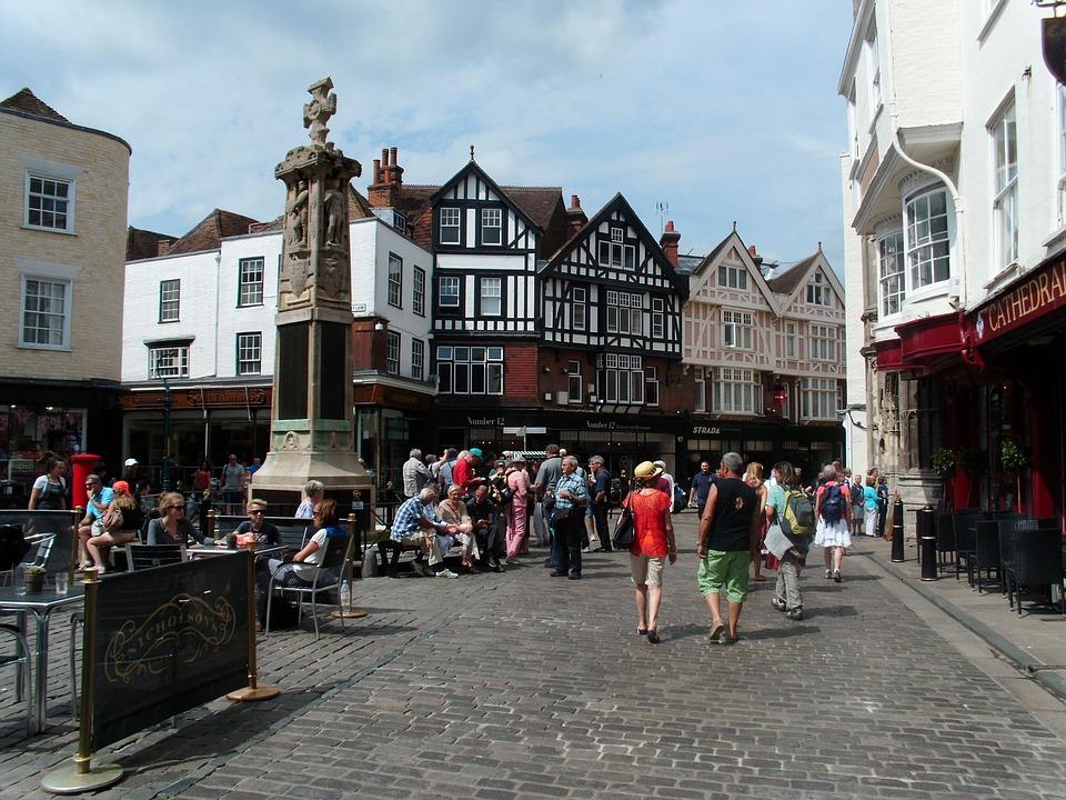 England, Village, Canterbury, Picturesque, Big Picture