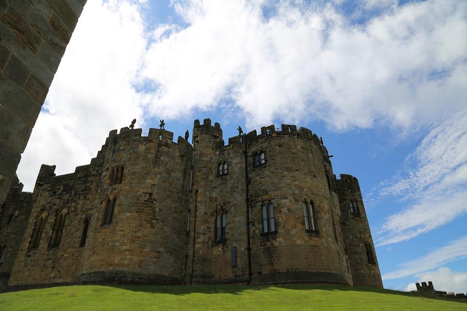 Castle, Alnwick Castle, Alnwick, England