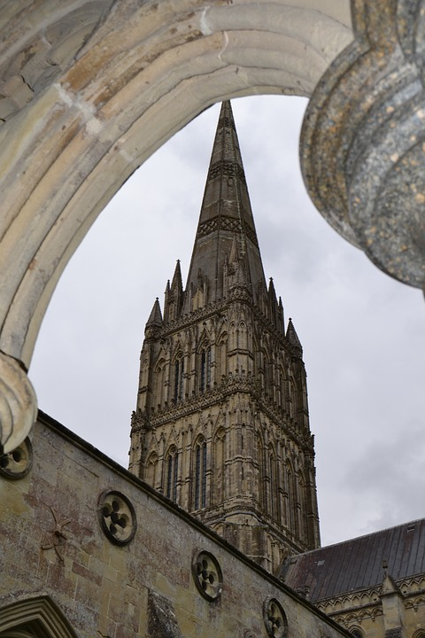 England, Salisbury, Building, Historically, Cathedral