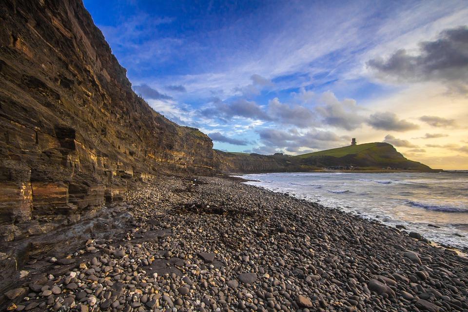 Jurassic Coast, Dorset, England, Bay, Ocean