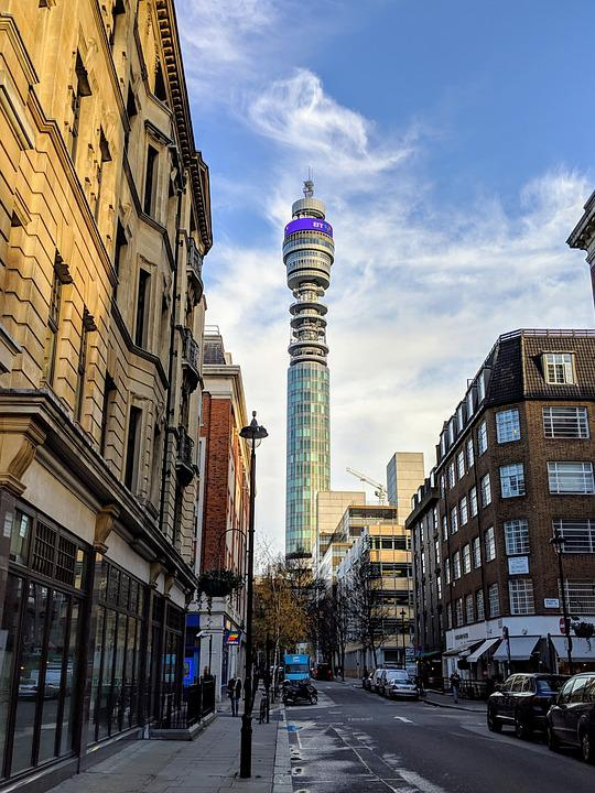 Tower, London, Sky, Architecture, England, Landmark