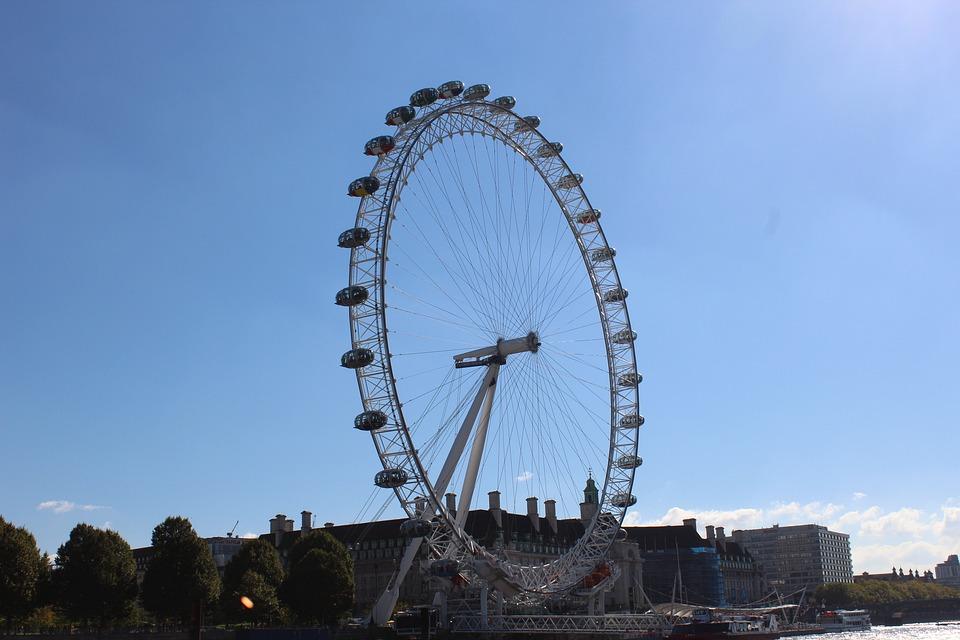 London, Londoneye, Ferris Wheel, England