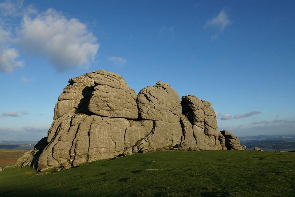 Dartmoor, Haytor Rocks, Granite, Moorland, England