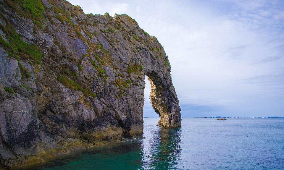 Durdle Door, England, Jurassic, Coast, Nature, Sky