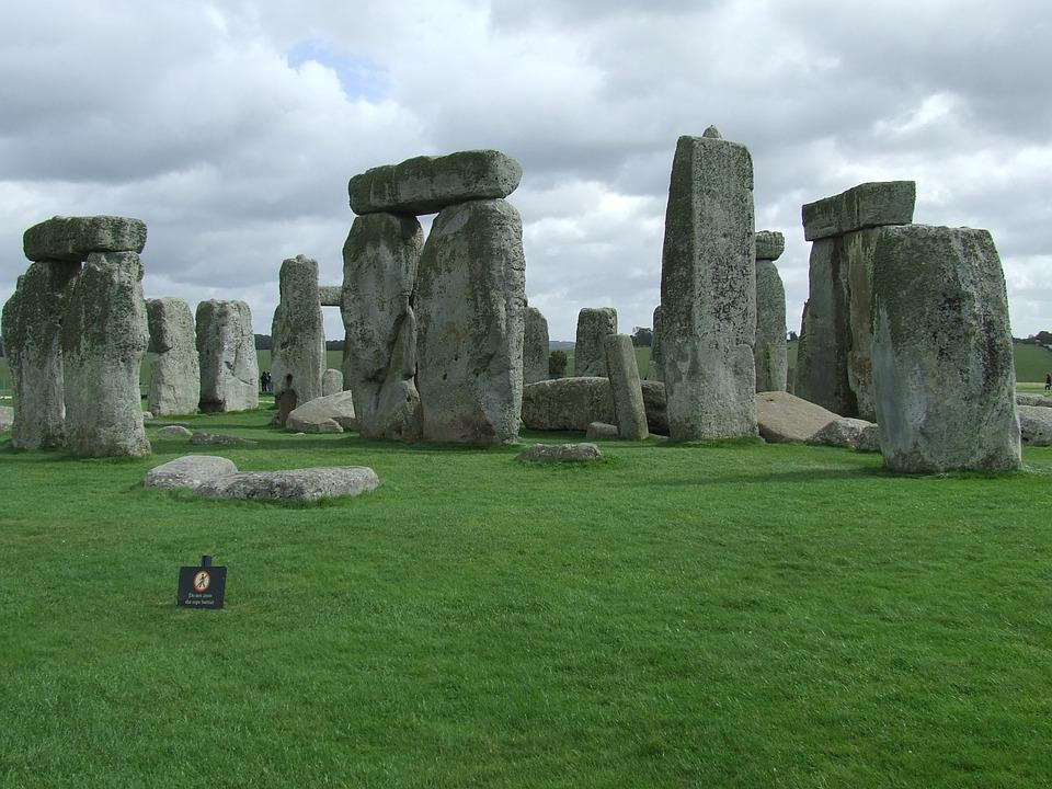 Stonehenge, Historic, England, Ancient, Britain, Stone