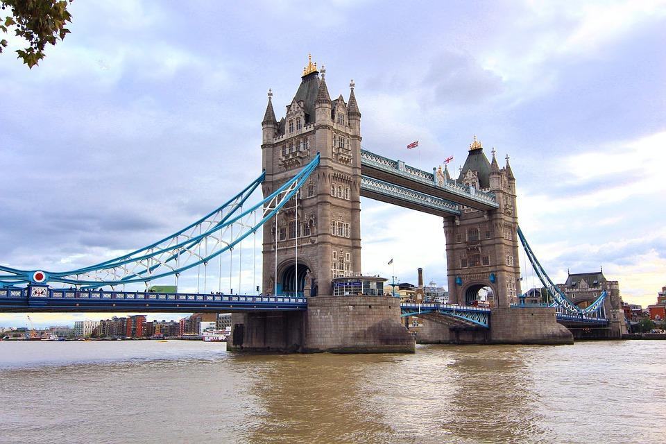 London, Tower Bridge, T, England, Bridge, City