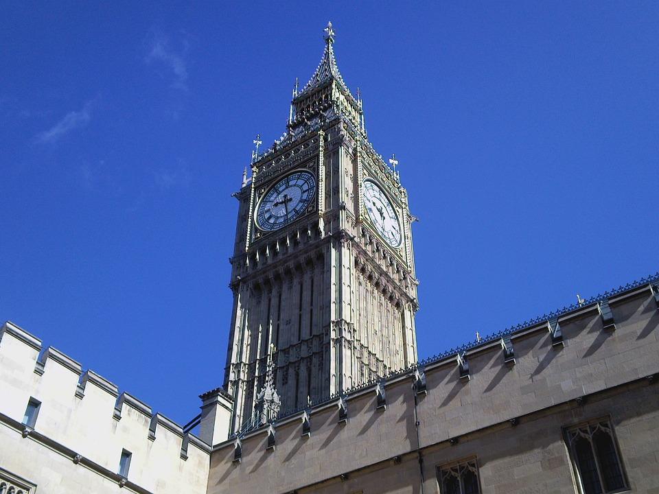 Big Ben, Clock, London, Tower, England, British