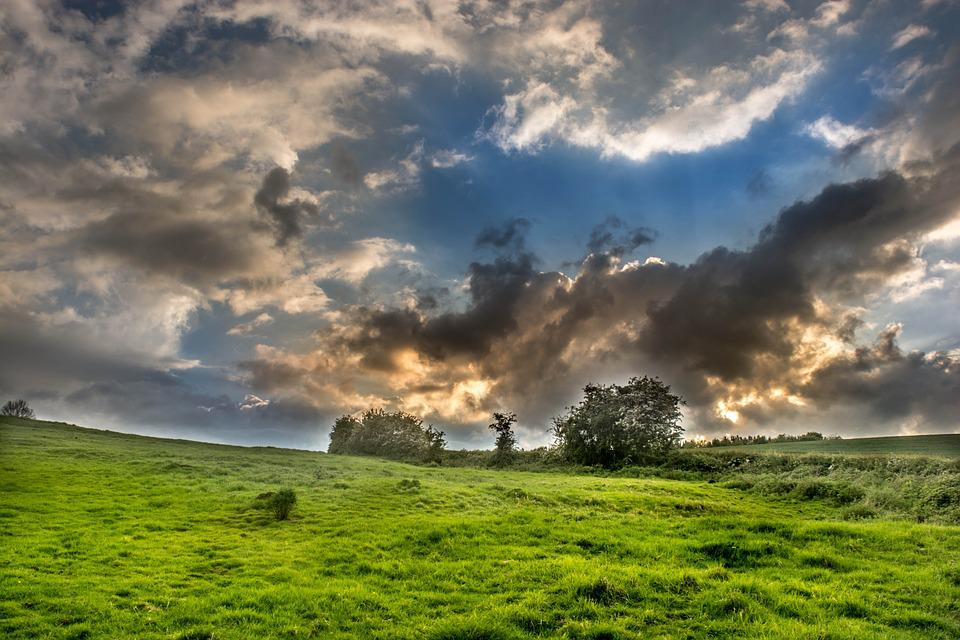 Countryside, England, Uk, Britain, English, Landscape