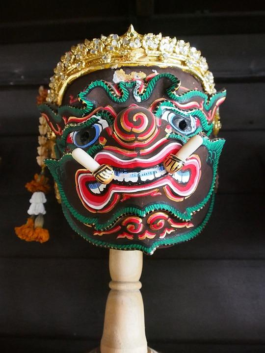 Mask, Khon, English Culture