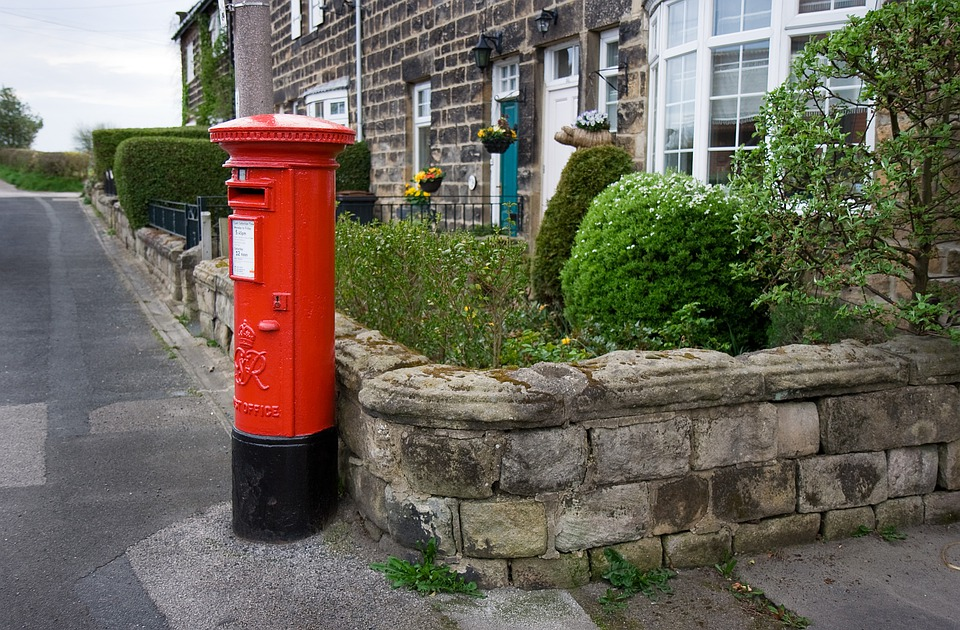 Box, Britain, England, English, Letter, Mail, Old, Post