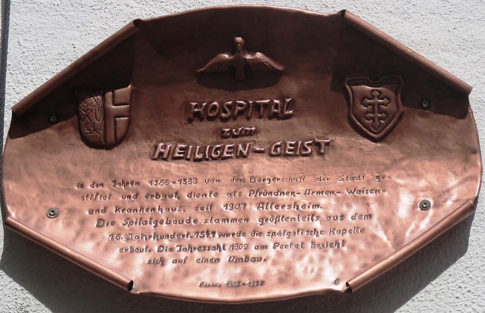 Memorial Font, Copper, Engraving