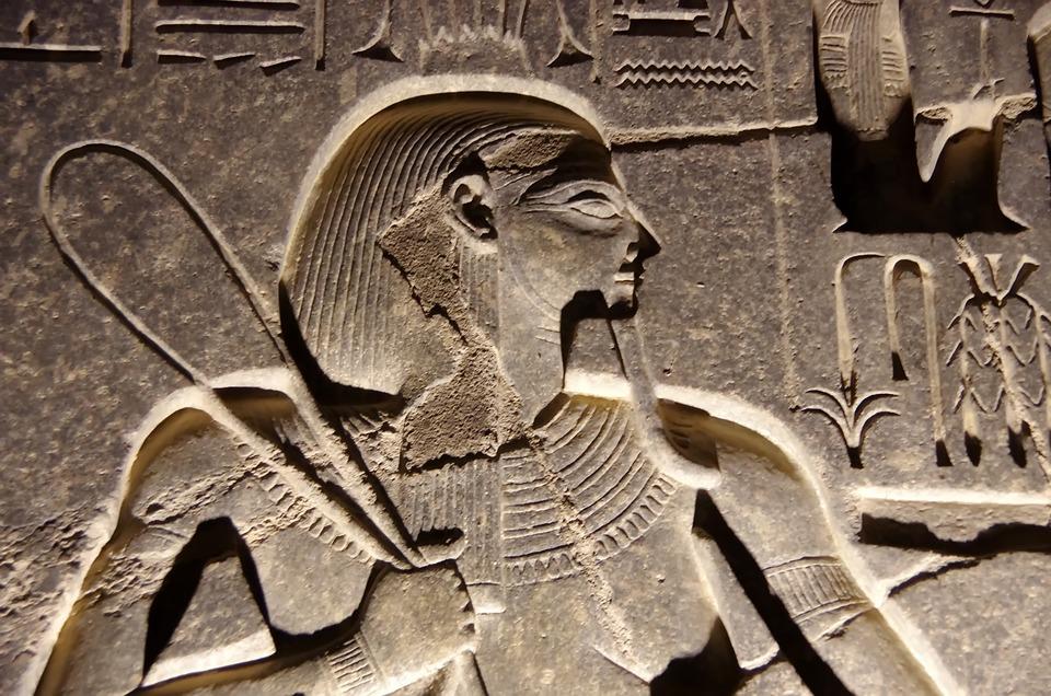 Egypt, Luxor, Temple, Engraving, Hieroglyph, Sculpture