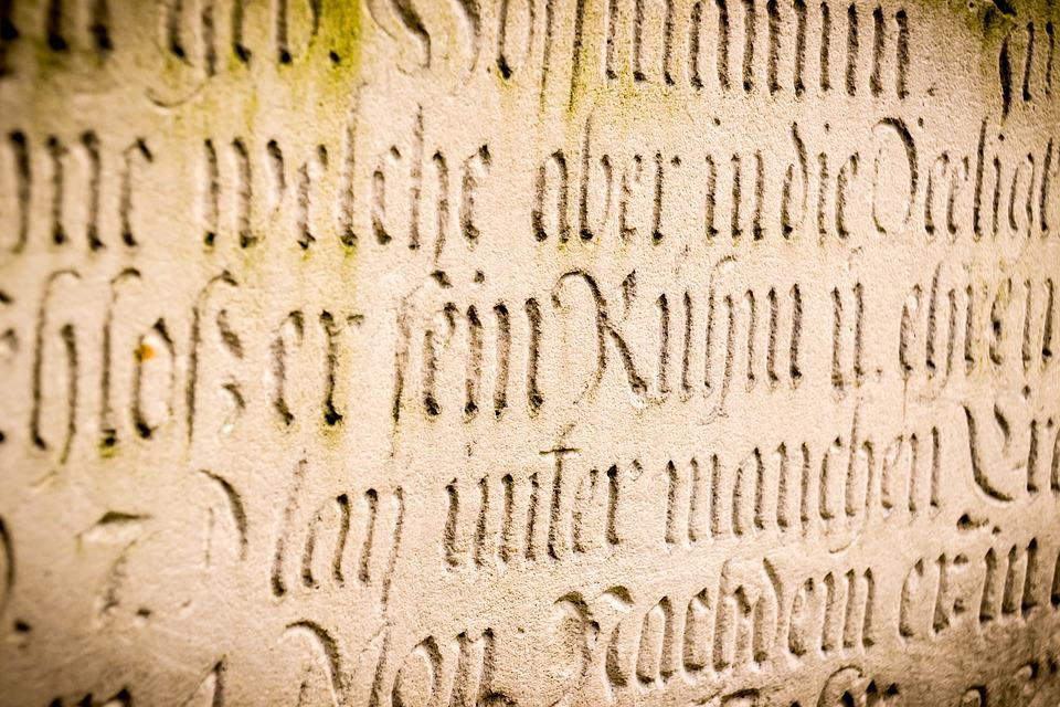 Sign, Engraving, Latin, Engravings, Monument, Stone