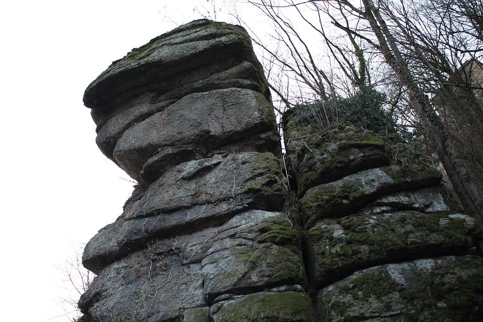 Rattleback, Rock, Gorge, Hike, More, Hiking, Enormous
