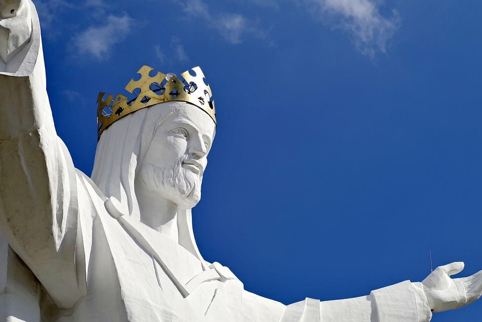 Jesus, Sculpture, Enormous, The Biggest, White, King