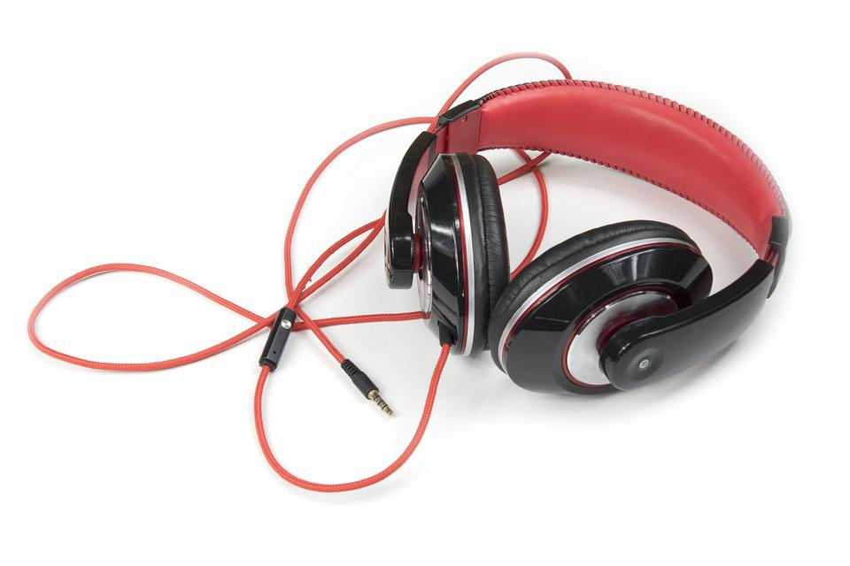 Headphones, Music, Listening, Entertainment, Relax