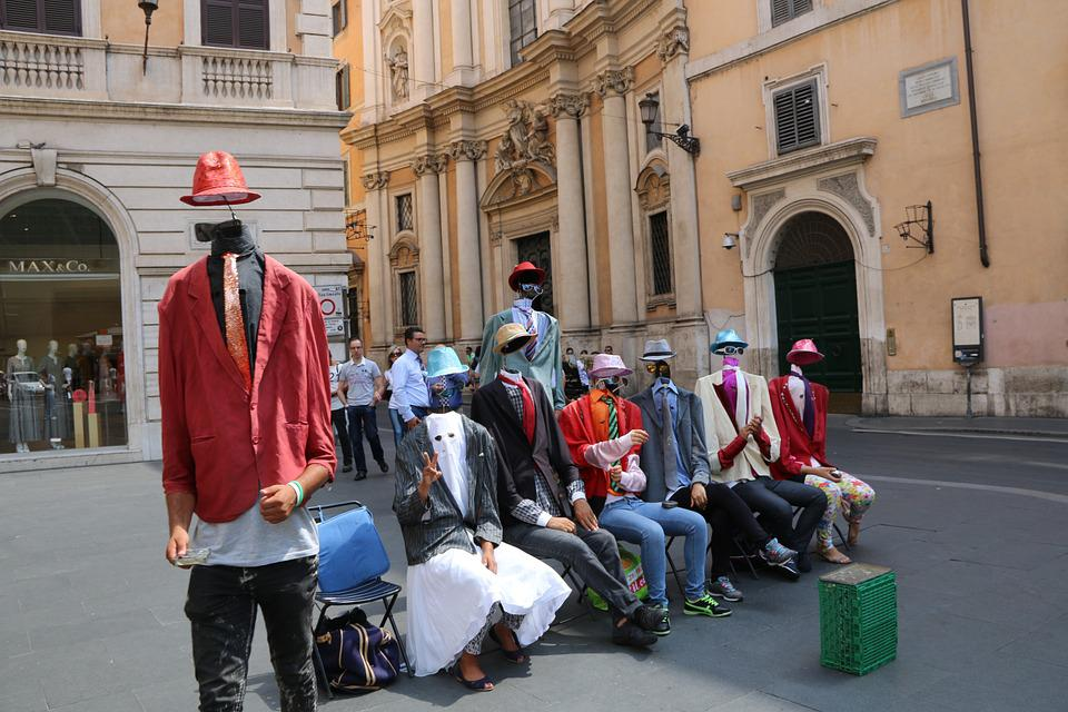 Human, Italy, Rome, Street, Enjoyable, Entertainment