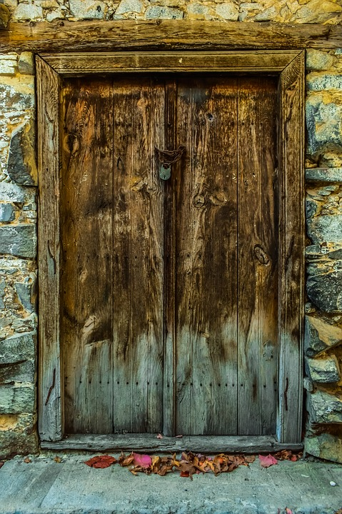 Door, Old, Entrance, Wooden, House, Architecture