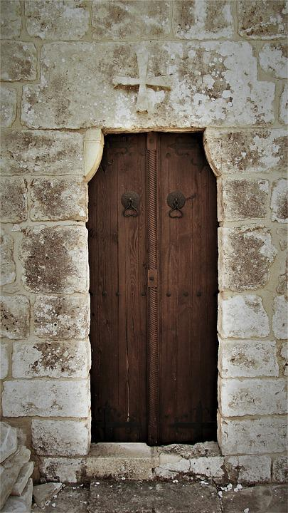 Door, Wooden, Entrance, Old, Architecture, Church