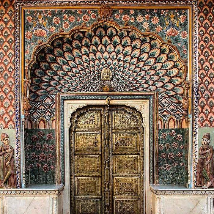 Door, Doorway, Entrance, Architecture, Gate, Arch