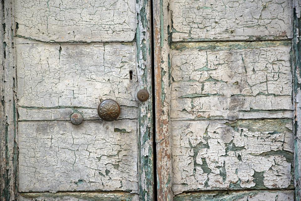 Door, Old, Entrance, Wood, Sagging, Color, Entry