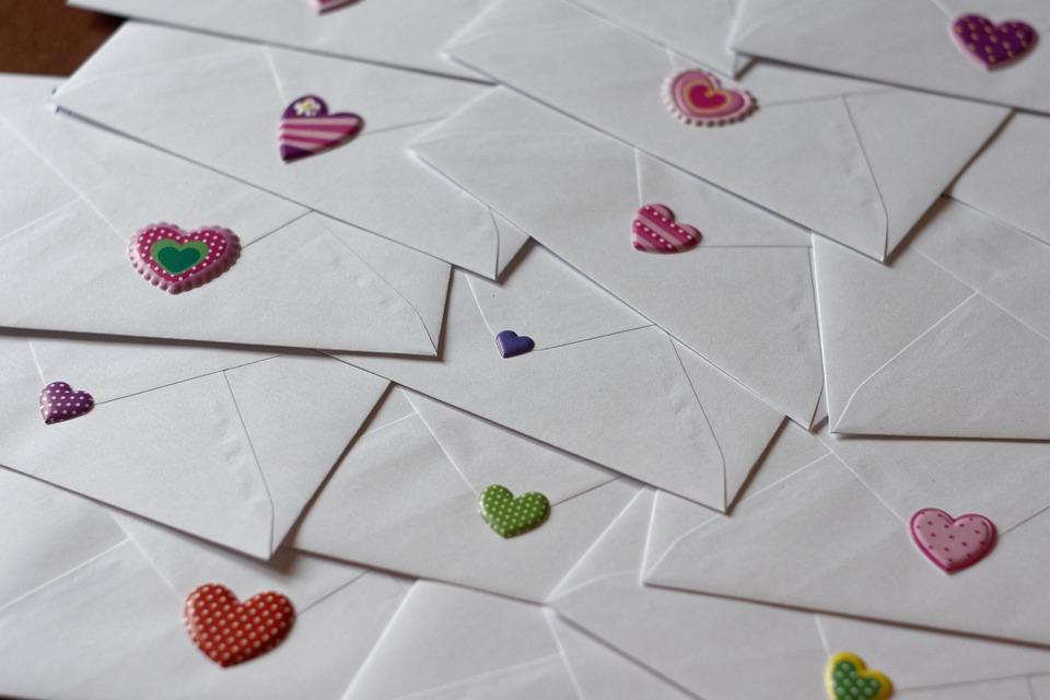 Envelope, Letters, Love Letter