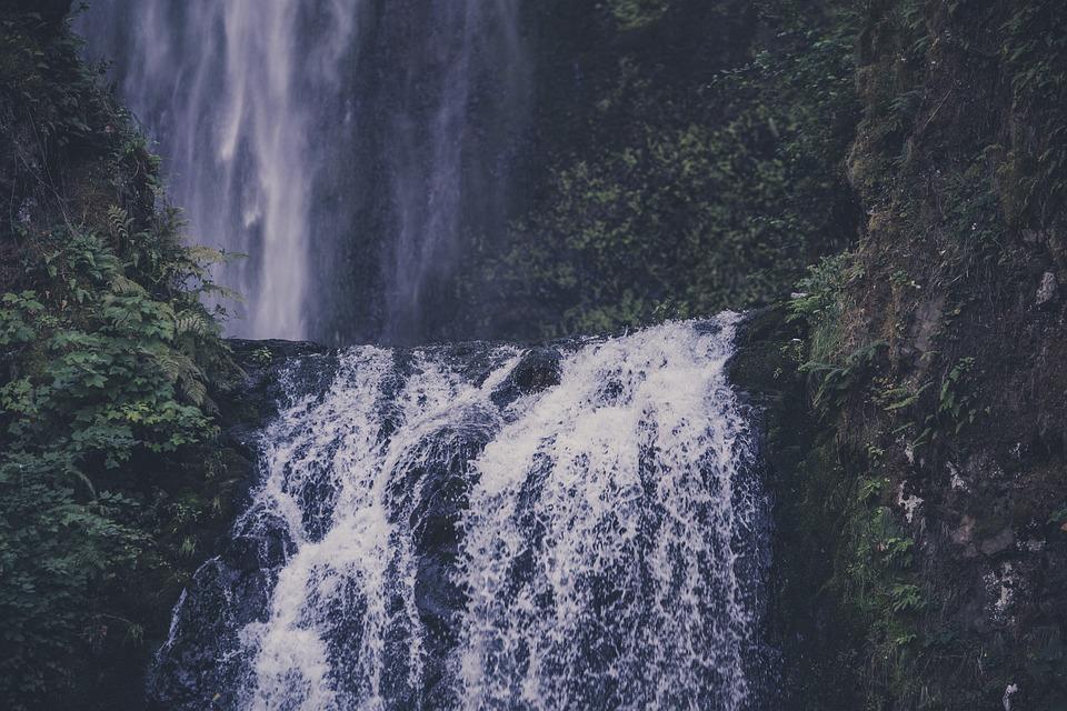 Cascade, Daylight, Environment, Fall, Landscape, Mist
