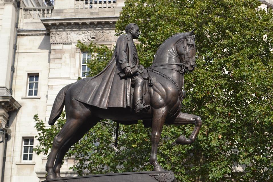 Statue, Equestrian, London, Earl Haig