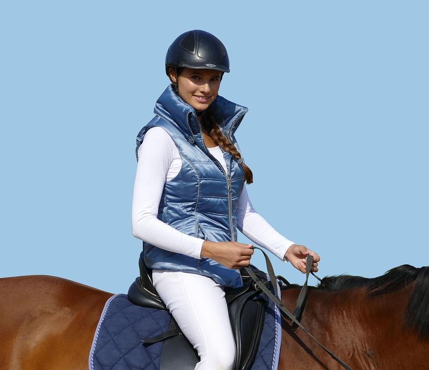 Riding Vest, Horse, Ride, Nature, Equestrian, Reiter