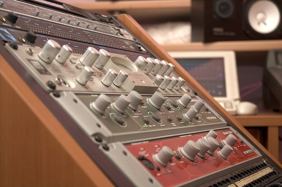 Studio, Record, Sound, Audio, Music, Equipment