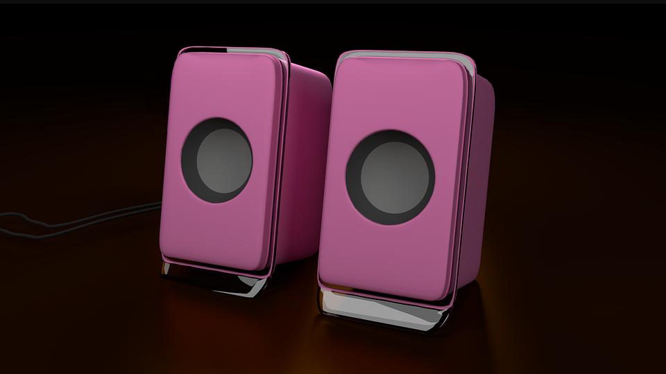 Speaker, Sound, Audio, Equipment, 3d