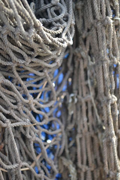 Rope, Net, Cargo, Dangling Rope, Equipment, Fishing