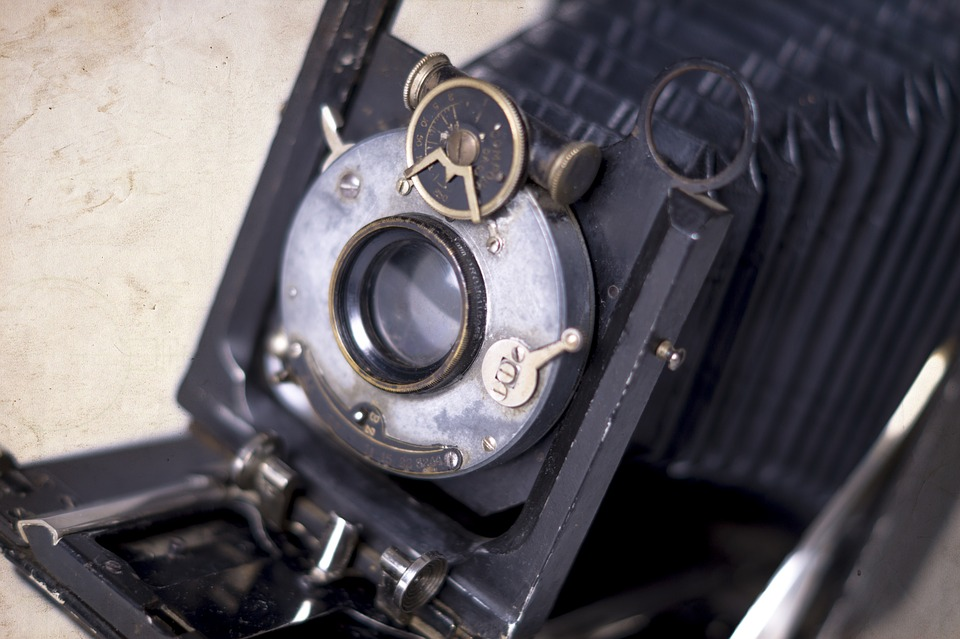Old Camera, Camera, Vintage, Equipment, Old-fashioned