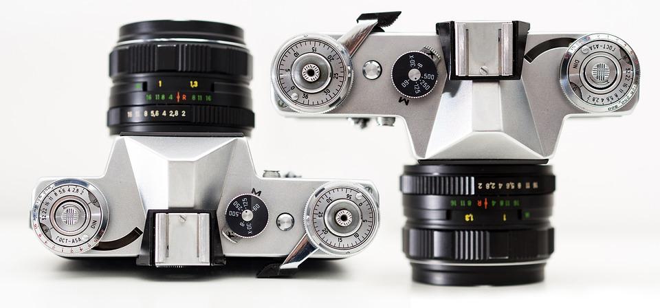 Film, Equipment, Classic, Isolated, Lens, Retro