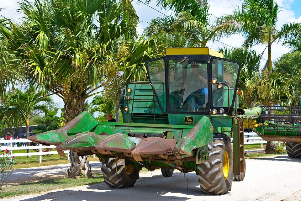 Combine, Farm Equipment, Old, Rusty, Equipment, Farm