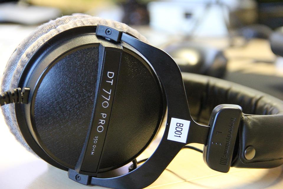 Equipment, Headphones, Studio, Listen