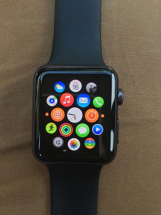 Watch, Apple, Technology, Equipment