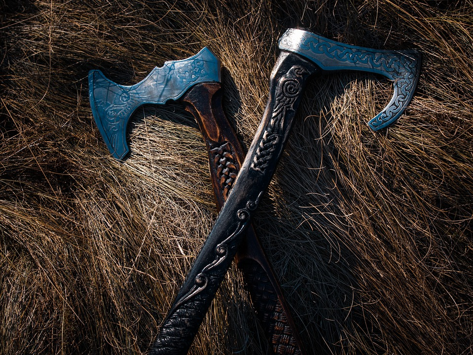 Axe, Weapon, Tool, Equipment, Viking, Battle, Warrior
